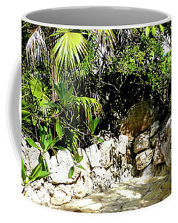 Coffee Mug featuring the photograph Tropical Hiding Spot by Francesca Mackenney