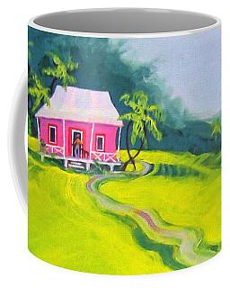 Tropical House - Pink Paradise Coffee Mug