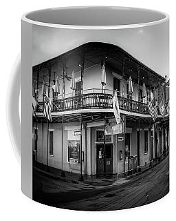 Tropical Isle In Black And White Coffee Mug