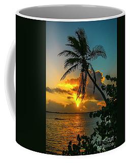 Tropical Lagoon Sunrise Coffee Mug