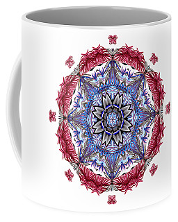 Tropical Mandala By Kaye Menner Coffee Mug