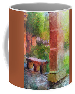 Coffee Mug featuring the digital art Tropical Memories by Lois Bryan
