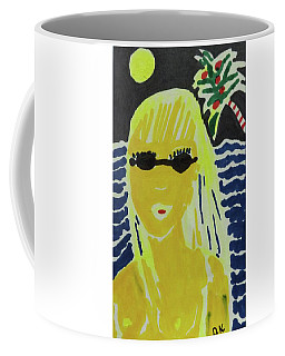 Tropical Moonlight Coffee Mug