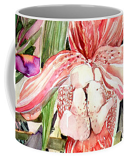 Tropical Orchids Coffee Mug