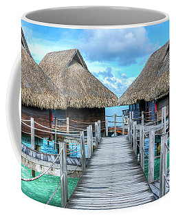 Tropical Resort Paradise Seascape Florida Keys 01 Coffee Mug