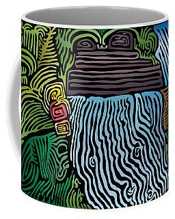Tropical River Coffee Mug