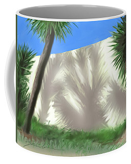 Tropical Shadows Coffee Mug