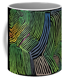 Tropical Striations Coffee Mug
