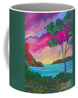 Tropical Volcano Coffee Mug