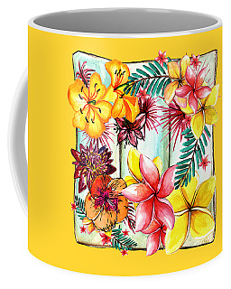 Coffee Mug featuring the photograph Tropicana By Kaye Menner by Kaye Menner