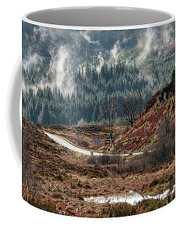 Coffee Mug featuring the photograph Trossachs National Park In Scotland by Jeremy Lavender Photography