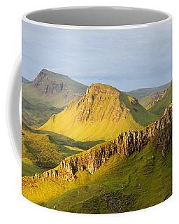 Trotternish Summer Morning Panorama Coffee Mug