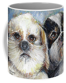 Trouble And Lexi Coffee Mug