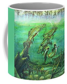Trout Battle Coffee Mug