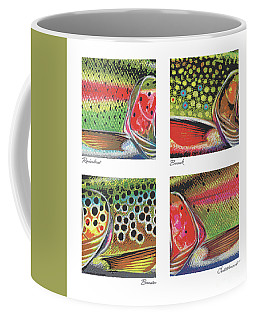 Trout Colors Coffee Mug