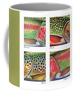 Trout Colors Coffee Mug