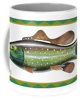 Trout Ice Fishing Decoy Coffee Mug