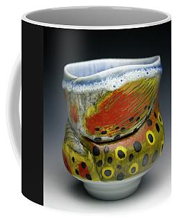 Trout Yunomi Coffee Mug