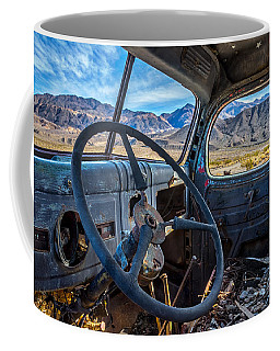 Truck Desert View Coffee Mug