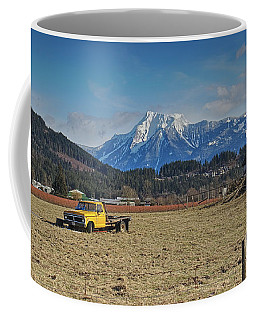 Truck In Harison Mills Coffee Mug