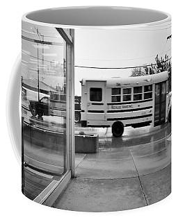 Truckin' In The Rain Coffee Mug by Jeanette O'Toole