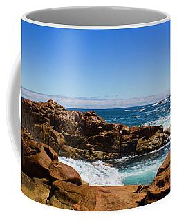 True Blue Aussie Coastline Coffee Mug