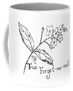 True Forget-me-not Coffee Mug