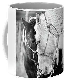 Coffee Mug featuring the photograph True Friends by Sharon Jones