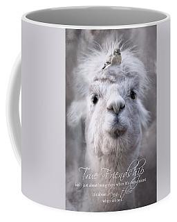 Coffee Mug featuring the photograph True Friendship by Robin-Lee Vieira