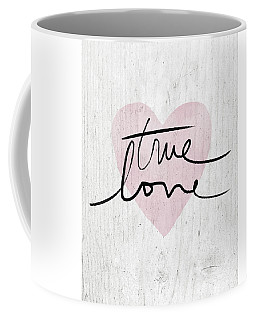 True Love Rustic- Art By Linda Woods Coffee Mug