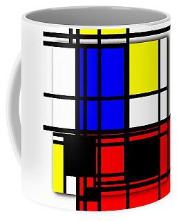 True Mondrian Coffee Mug