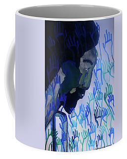 Coffee Mug featuring the painting True Praise by Gloria Ssali