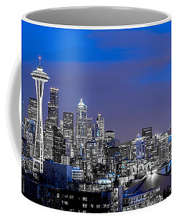 True To The Blue In Seattle Coffee Mug