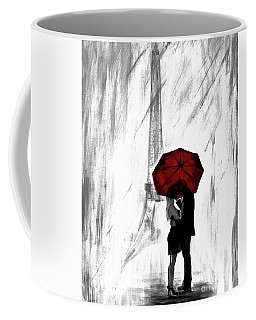 Coffee Mug featuring the painting Truly All Yours by Leslie Allen