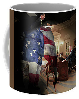 Trump And Comey Coffee Mug