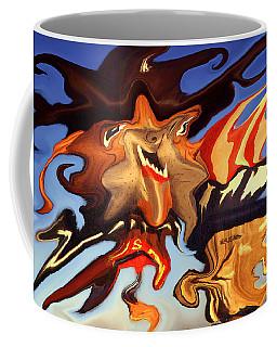 Donald Trump, The Bizarre American President - Modern Artwork Coffee Mug