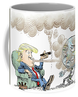 Trump And The World On Climate Coffee Mug