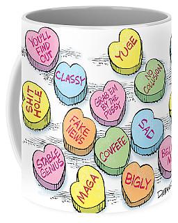 Trump Valentines Candy Uncensored Coffee Mug