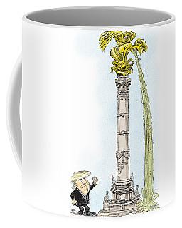 Trump Visits Mexico Coffee Mug