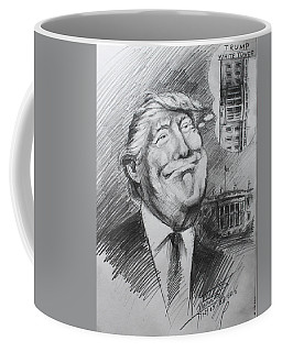 Trump White Tower  Coffee Mug