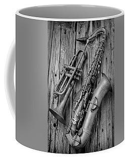 Trumpet And Sax Coffee Mug