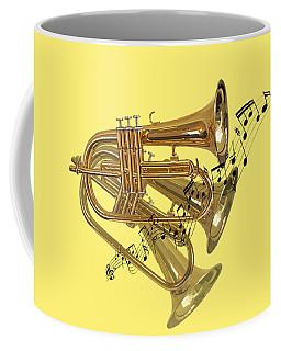 Trumpet Fanfare Coffee Mug