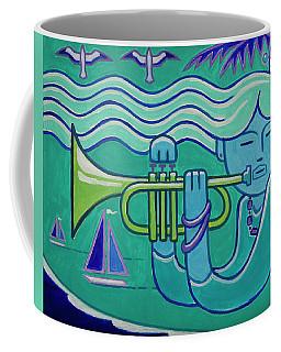 Trumpet Girl Coffee Mug