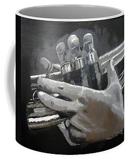 Trumpet Hands Coffee Mug