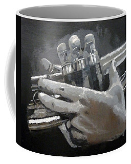 Trumpet Hands Coffee Mug