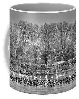 Trumpeters And Canadians In Iowa Coffee Mug