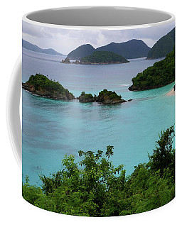 Trunk Bay At U.s. Virgin Islands National Park Coffee Mug