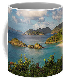Coffee Mug featuring the photograph Trunk Bay Morning by Adam Romanowicz