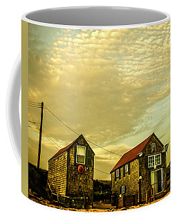 Truro Beach Houses Coffee Mug