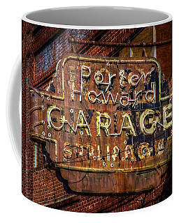Coffee Mug featuring the photograph Trust In Rust by Linda Unger
